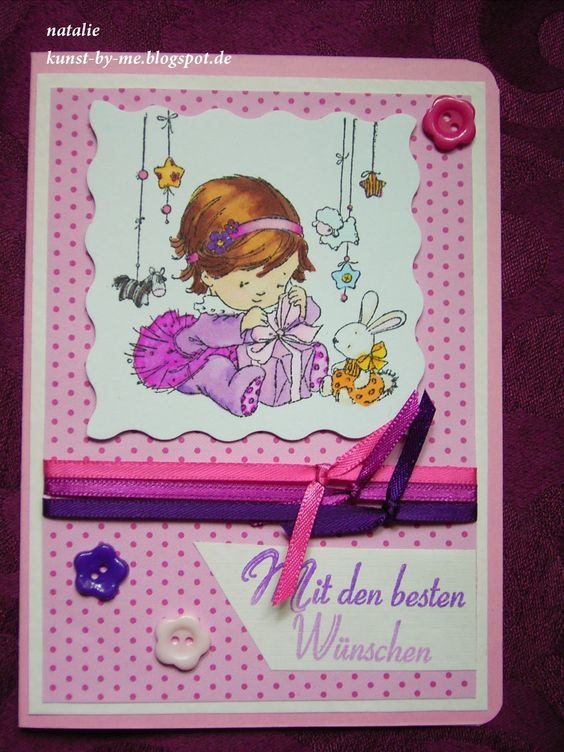 Arts & Crafts by Natalie: TBT 11: rosa Überraschung (pink surprise)