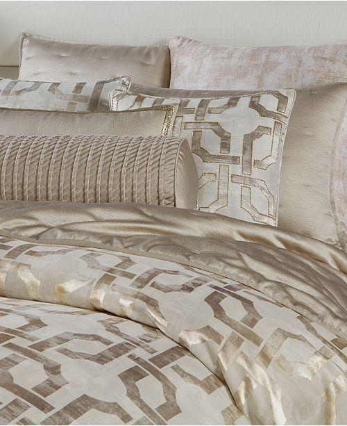 Fresco King Duvet Cover Created For Macy S Hotel Bedding Sets