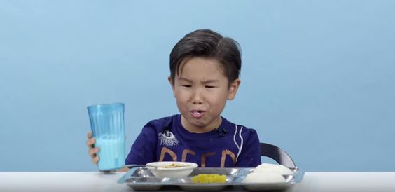 US #schoolkids try international #food #experiment #funny