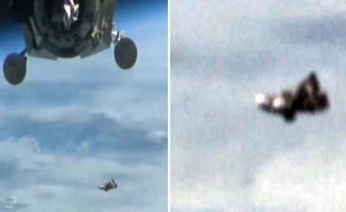 """Incrível Vídeo Mostra o Lendário Satélite Alienígena """"Black Knight"""" perto da ISS (VÍDEO)"""