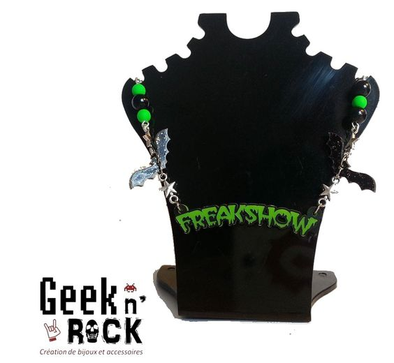 Collier Freakshow ambiance Zombie