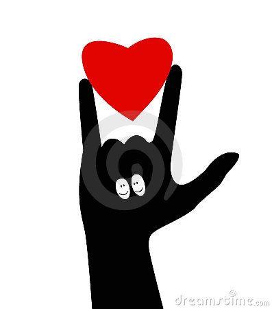 I Love You Sign Language Clip Art | ASL Clip Art 5-4 I Love You ...