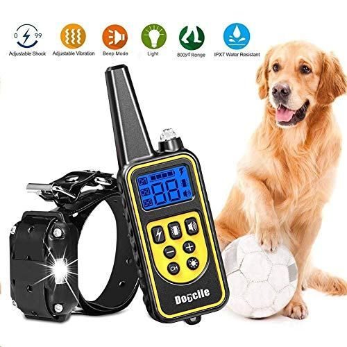 Yida Tech Dog Shock Collar With Remote Dog Shock Collar