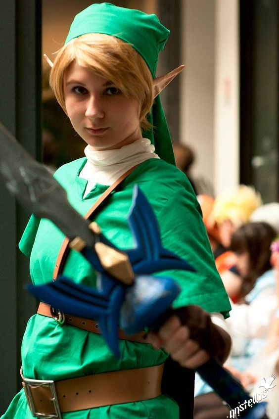 Female Link french #crossplay