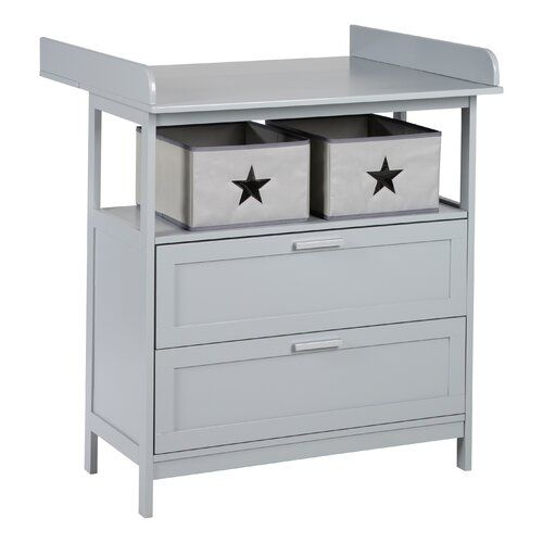 Hamburg Changing Table Dresser Roba Colour Grey In 2020