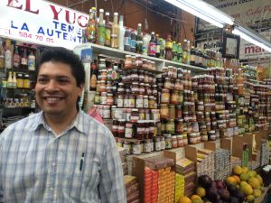 Another fine example of people who take their trade seriously at the Mercado de Medellín. Join our cMarket Tour and Coking Class in Mexico City!