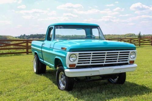 67 F100 Shortbed Tilt Front End Ford Trucks Ford Pickup Pickup Trucks
