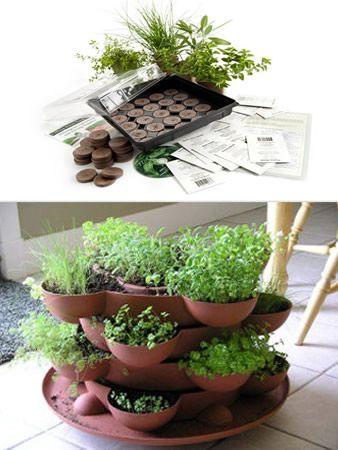 Cute little space-saving garden idea.