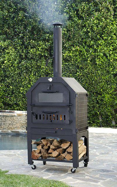 wood fired pizza ovens outdoor living. Black Bedroom Furniture Sets. Home Design Ideas