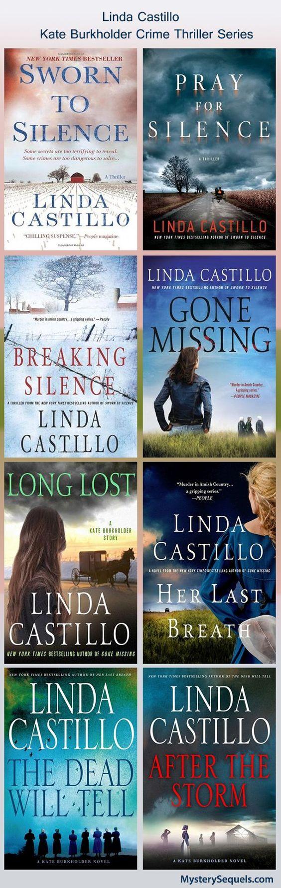 Linda Castillo - Kate Burkholder crime thriller series