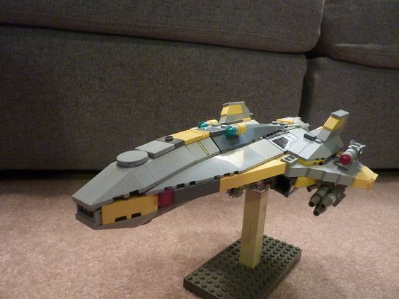 Bricks: BrikWednesday - 8/29/18 F.L.A.S.H. Interceptor, by Theblackdog