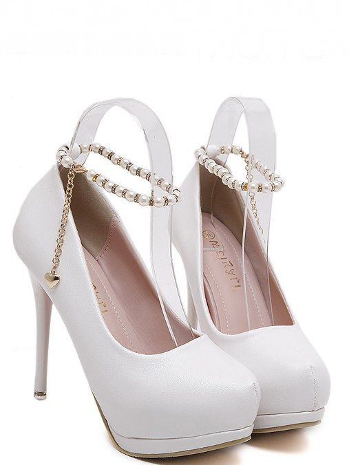Charmed Ankle Strap High Heels Fashion Shoes