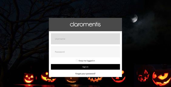 An intranet fit for Halloween!