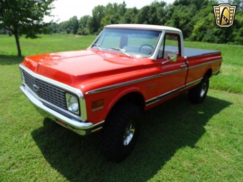 350 Cid V8 1971 Chevrolet K10 Truck Pickup Vintage Classic