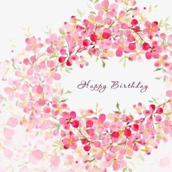 Pin By Marie Rose Demers On Gene8lia Happy Birthday Flower Happy Birthday Greetings Happy Birthday Images