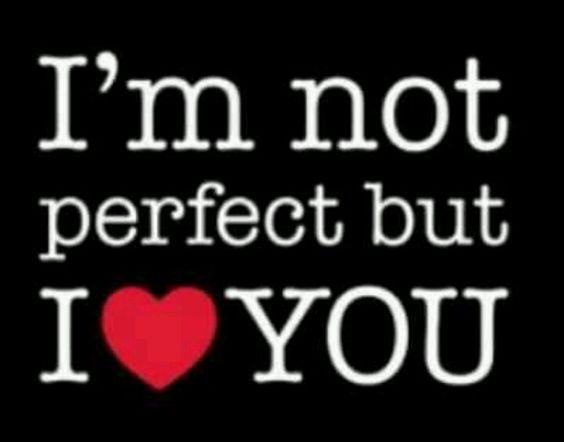 No soy perfecta pero <3 u