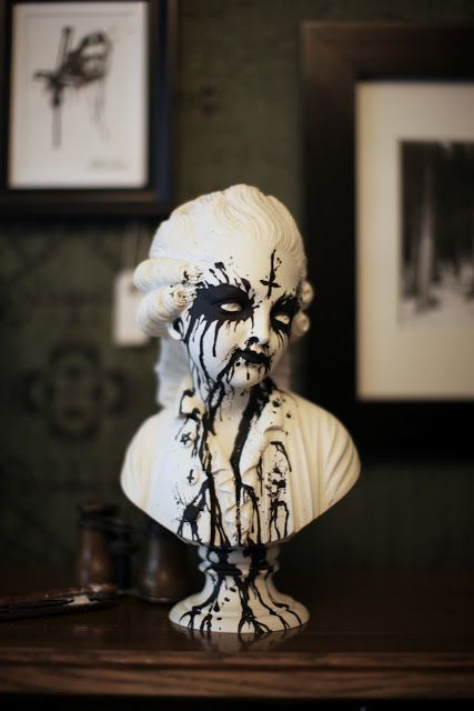 The Blog of Uncle: August 2012 Black Metal Art Show
