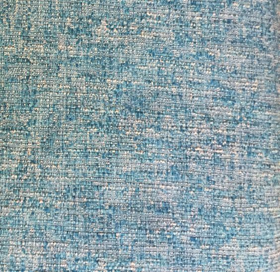 Turquoise Tweed Fabric Medium Weight Upholstery Multipurpose by ShopPetunias on Etsy