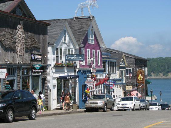 Bar Harbour, Maine (terra favorita no planeta)