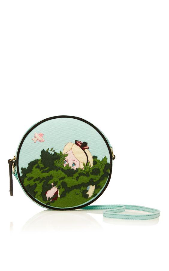 Camouflage Alice Dizzie Cross body Bag  - Olympia Le-Tan Resort 2016 - Preorder now on Moda Operandi