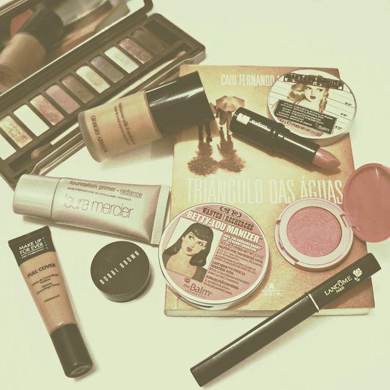 Rosto do dia. The Balm, Giorgio Armanu, Urban Decay, Make Up For Ever, Lâcome, Tarte, maquiagem, coleção de maquiagem, make up collection