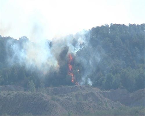 Estabilizado el fuego de Los Serranos (Valencia) tras quemar 5.500 hectáreas