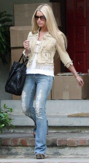 Jessica Simpson on Flipboard | Celebrity Style, Breast ...