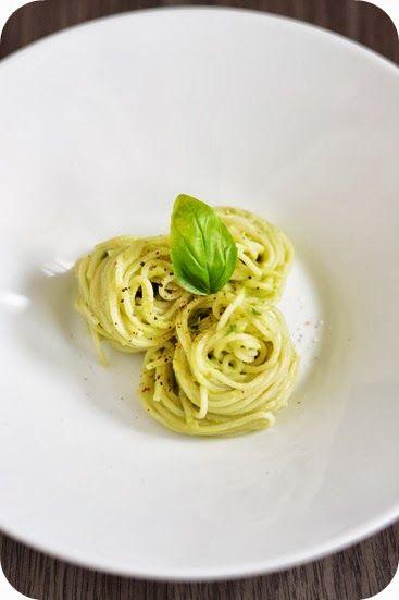 Fräulein M. kocht!: Spaghetti mit cremiger Avocado-Soße