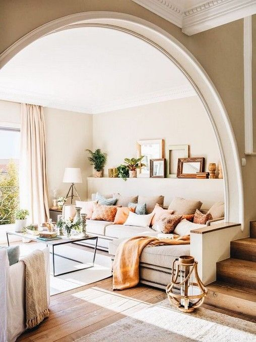 36 Open Living Room Ideas House The Culture Home Living Room Home Home Interior Design Living room arch decoration ideas