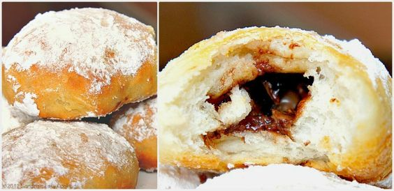 Sandra's Easy Cooking: Sweet Rolls filled with Chocolate
