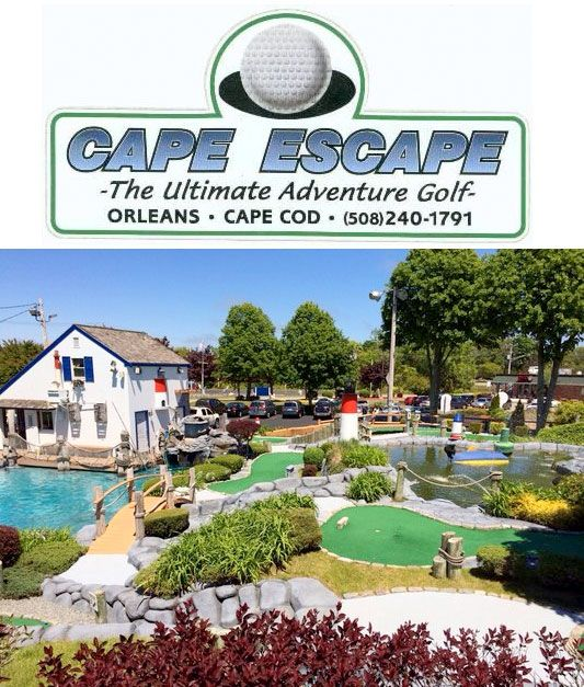 Cape Escape Adventure Golf In Orleans. 18 Holes Of Mini
