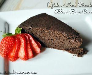 (Gluten-Free) Chocolate & Black Bean Cake/Bolo de Chocolate & Feijão Preto (Sem Glúten)