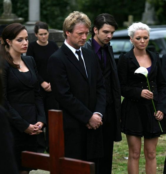 Primeval: Steven's funeral.   [6/25]Favorite Primeval Stills