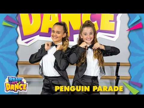 It S Penguin Parade Time With Ready Set Dance Learn How To Do A Tap Shuffle And Slide Across The Ice Penguin Parade Penguin Songs Kids Songs