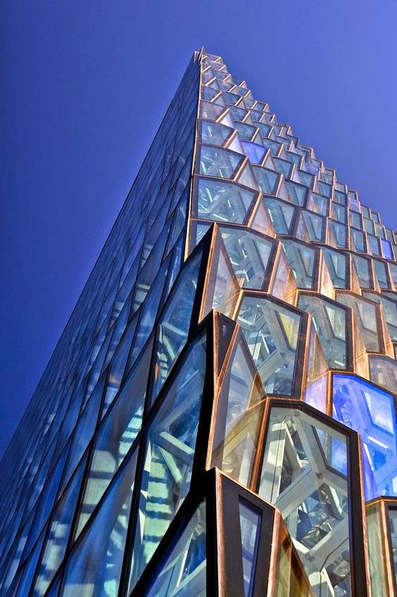 Harpa Concert Hall, Iceland #architecture #modern