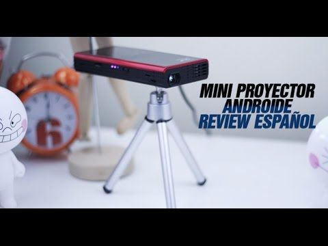 Mini Proyector Portable Androide E03S Review Español - YouTube