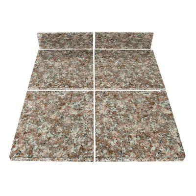 Modular Kitchen Tiles : TopStone - Mauve Modular Kitchen Tile Kit B - 71687 - Home Depot ...