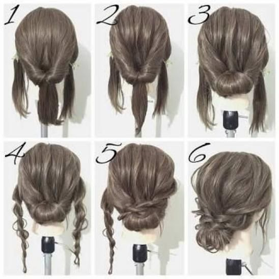 170 Easy Hairstyles Step By Step Diy Hair Styling Can Help You To Stand Apart From The Crow In 2020 Medium Length Hair Styles Updos For Medium Length Hair Hair Lengths