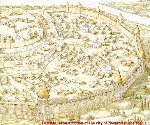 Novgorod in Ivan's time