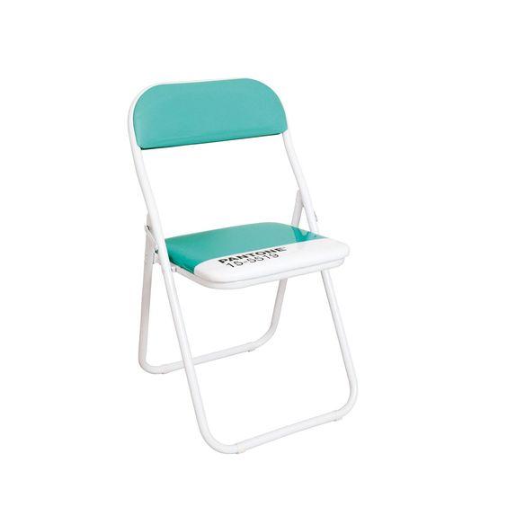 Chair in metal and PVC turquoise mod. Pantone, Seletti. // Silla en metal y PVC turquesa mod. Pantone, Seletti. // Sedia in PVC e metallo turchese mod.Pantone, Seletti. #chair #silla #sedia #pvc #steel #acero #acciaio #seletti