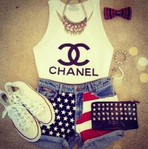 #Chanel outfit