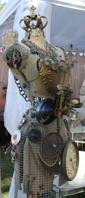 Ring In The Steampunk Decor To Pimp Up Your Home: Industrial, Dress Form And Steampunk On Pinterest