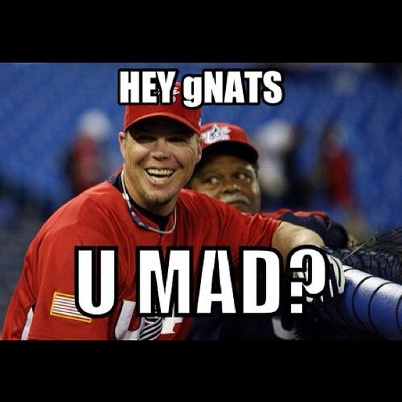 Couldn't resist this one.  What a great weekend for baseball!!!  :)