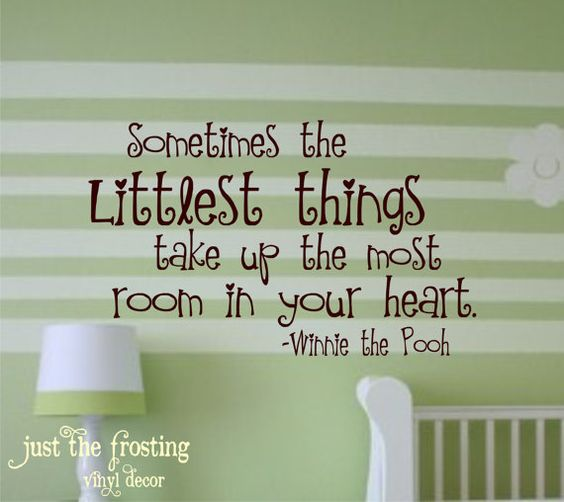 Winnie The Pooh Children Decor Vinyl Lettering  by JustTheFrosting, $22.00