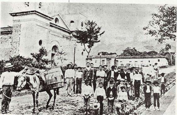 Aserri anos 1900