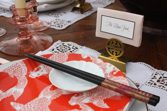 Our TOP 5 Hotlist Pro @Sandy Verkerk Paper Melange featured in Ceremony Magazine Tabletop Inspiration - Sweet Zen.