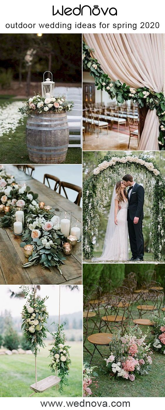10 Awesome Outdoor Greenery Wedding Ideas For Spring 2020 In 2020