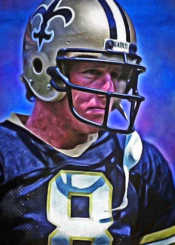Archie Manning Limited Edition Art Card 1 of 49 ACEO New Orleans Saints in Sports Mem, Cards & Fan Shop, Cards, Football | eBay