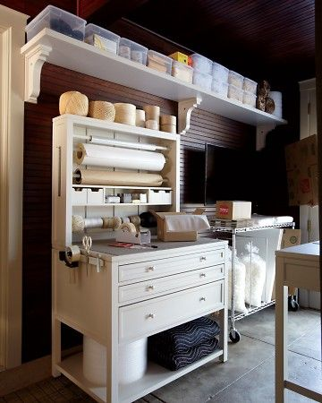 Homekeeping craft space and martha stewart on pinterest for Martha stewart home decorators collection