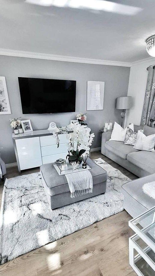 Living Room Decor, Grey Living Room Decor